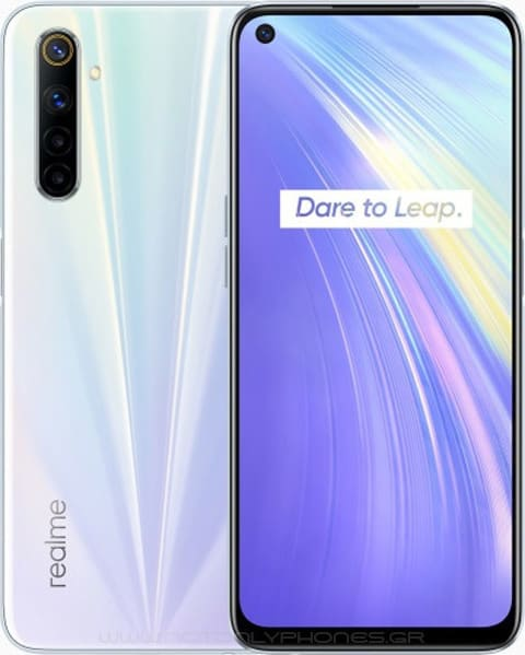 REALME 6 4G 4GB/64GB DS white EU Image