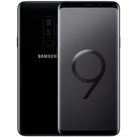 SAMSUNG GALAXY S9 PLUS- DS- MIDNIGHT BLACK SM-G965F/DS Image