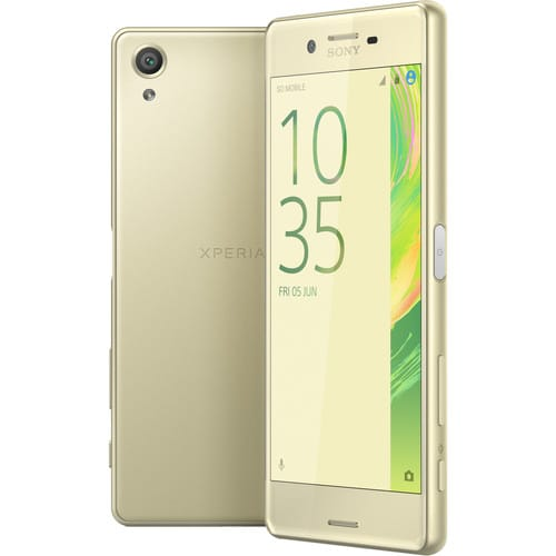 SONY XPERIA X F5121 3GB 32GB LTE LIME GOLD Image